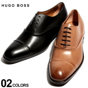 ヒューゴ ボス HUGO BOSS シューズ レザー ストレートチップ 内羽根 レースアップ ホールカット ブランド メンズ 革靴 本革 HB10201737ST|zen