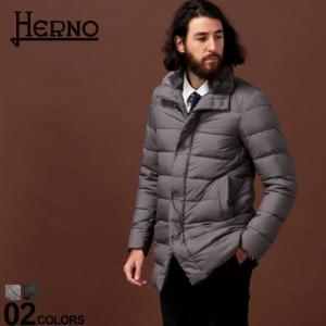 ヘルノ HERNO ダウンジャケット ファー ダウンコート ナイロン ハーフ丈 ブランド メンズ アウター コート HRPI0588U13220 zen