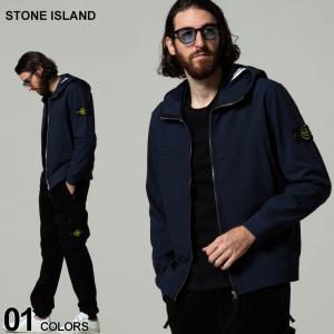 STONE ISLAND ストーンアイランド 裏フリース ソフトシェル ブルゾン ブランド メンズ アウター マウンテンパーカー ジャケット ブルゾン SIMO7515Q0122|zen