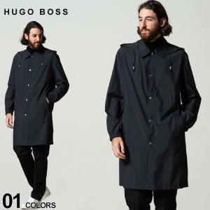 ヒューゴボス メンズ HUGO BOSS ステンカラー 撥水 ナイロン パーカー コート ブランド アウター フード HBMOOVE10238082|zen