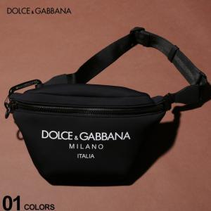 ドルチェ&ガッバーナ DOLCE&GABBANA ボディバッグ ネオプレン ロゴ ウエストバッグ ブランド メンズ レディース バッグ 鞄 ポーチ DGBM1760AJ641 zen