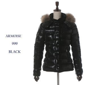モンクレール MONCLER ナイロン リアルファー ダウンブルゾン ダウンジャケット ARMOISE アルモアーズ MCLARMOISE7 ブランド レディース 女性|zen