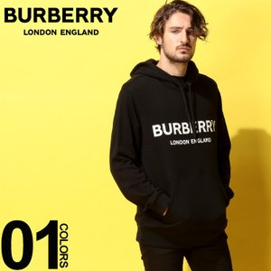 バーバリー BURBERRY パーカー スウェット ロゴ プリント プルパーカー ブランド メンズ トップス フード スエット BB8009509|zen
