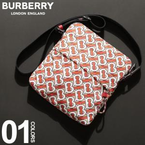 バーバリー BURBERRY ボディバッグ TB モノグラム プリント ショルダーバッグ ブランド メンズ レディース ナイロン BB8010747|zen