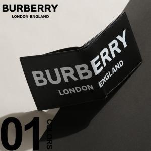 バーバリー BURBERRY 二つ折り 財布 ロゴ プリント レザー インターナショナル バイフォールドウォレット ブランド メンズ 小銭入れなし BB8008887|zen
