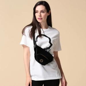 モンクレール MONCLER ベロア ロゴ ウエストバッグ FELICIE GM BELT BAG ブランド レディース バッグ 鞄 ウエストポーチ ボディバッグ MCL3016600549SE|zen