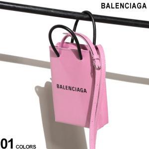 バレンシアガ バッグ レディース BALENCIAGA ショッピング フォンホルダー ロゴ グリッター レザー ラメ ショルダーバッグ ブランド 鞄 BCL5938261J63N zen