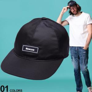 モンクレール メンズ キャップ MONCLER ナイロン ロゴ サーフキャップ ブランド 帽子 ローキャップ MC3B71600539TL zen