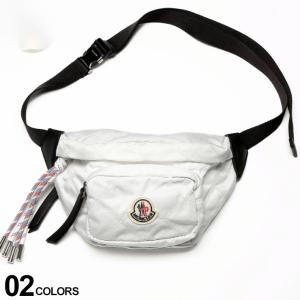 モンクレール バッグ MONCLER ロゴ ワッペン ナイロン ベルトバッグ FELICIE 白 ブランド メンズ レディース 鞄 ウエストポーチ ボディバッグ MCL5M7001002SA9|zen