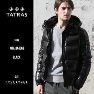 タトラス TATRAS ナイロン フード フルジップ ダウンブルゾン ダウンジャケット BELBO ベルボ TRMTA19A4562|zen
