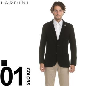ラルディーニ ニットジャケット LARDINI シングル 2ツ釦 2B ウールニット ジャケット ブートニエール ブランド メンズ LDLJM19IG51021|zen