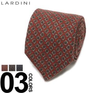 ラルディーニ LARDINI ブートニエール付き 総柄 ネクタイ ウールタイ ブランド メンズ ビジネス ウール LDCRC8IG51102|zen