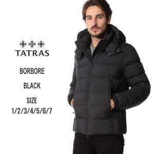 タトラス TATRAS ダウンジャケット メンズ フード パーカー BORBORE ボルボア ブランド メンズ アウター ブルゾン TRMTA19A4568 zen