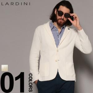 ラルディーニ LARDINI ジャケット コットンニット シングル 2ツ釦 2B ニットジャケット ブランド メンズ ブートニエール LDLJM1952004 zen