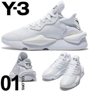 Y-3 ワイスリー スニーカー レザー ローカット ロゴ KAIWA ブランド メンズ 靴 Yohji Yamamoto ヨウジヤマモト Y3G54502|zen