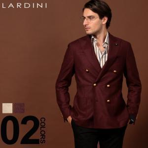 ラルディーニ LARDINI ジャケット ウール ダブル ブレスト 6B ブランド メンズ アウター メタル釦 ブレザー LD660AERRP53598|zen