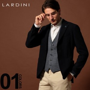 ラルディーニ LARDINI ジャケット ウール シングル ストレッチ 段返り3ツ釦 3B ブランド メンズ アウター テーラード LD902AEA53535|zen