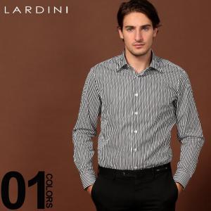ラルディーニ LARDINI シャツ 長袖 ストライプ ドレスシャツ カッタウェイシャツ ブランド メンズ トップス ワイシャツ コットン LDANGELOILC1121|zen