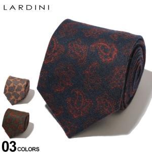 ラルディーニ LARDINI ネクタイ ウールタイ ペイズリー ブランド メンズ タイ ウール LDCRC8IL53148|zen