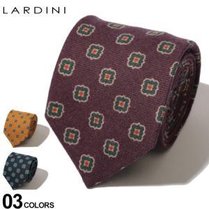 ラルディーニ LARDINI ネクタイ ウールタイ 小紋柄 ブランド メンズ タイ ウール LDCRC8IL53150|zen