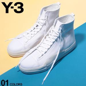 Y-3 ワイスリー スニーカー キャンバス ハイカット YUBEN MID ユーベン ミッド ブランド メンズ 靴 シューズ Yohji Yamamoto Y3EF2654|zen