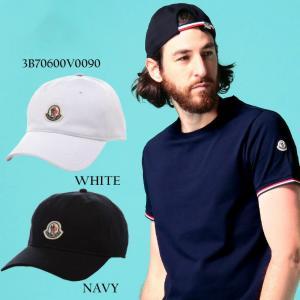 モンクレール キャップ MONCLER ロゴ ワッペン 裏メッシュ アジャスター ブランド 帽子 コットンキャップ 白 黒 紺 メンズ レディース MC3B70600V0090 zen
