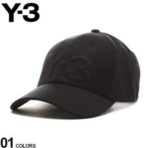 Y-3 メンズ キャップ ワイスリー ロゴ 刺繍 6パネル LOGO CAP ブランド 帽子 コットンキャップ Yohji Yamamoto メンズ レディース Y3FQ6974 zen