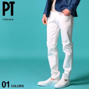PT TORINO メンズ ホワイトデニム ピーティートリノ ジーンズ ストレッチ デニムパンツ SOUL ブランド ボトムス 白デニム ジーパン PTC5VL15Z00OA14 zen