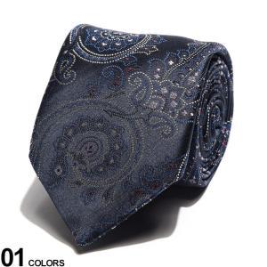 エトロ ネクタイ ETRO シルク100% ペイズリー 紺 ブランド メンズ シルク 絹 タイ ET120266044 zen