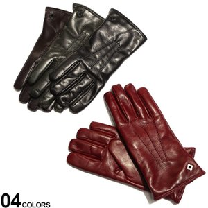 ラルディーニ メンズ 手袋 LARDINI ラムレザー カシミヤ 裏地 グローブ ブランド レザー手袋 レザーグローブ 羊皮 LDVENEZIA55336|zen