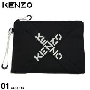 ケンゾー バッグ KENZO クロス ロゴ クラッチバッグ SPORT LARGE CLUTCH ブランド メンズ バッグ 鞄 ナイロン KZFA65PM222F21|zen