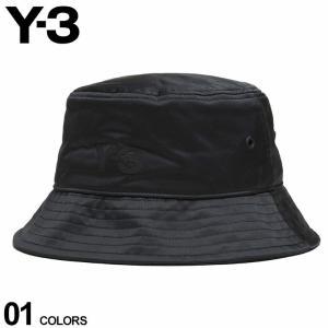 Y-3 ワイスリー メンズ ハット ロゴ 裏メッシュ バケットハット CLASSIC BUCKET HAT 黒 ブランド 帽子 ヨウジヤマモト YOHJI YAMAMOTO Y3GQ3279|zen