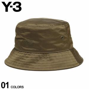 Y-3 ワイスリー メンズ ハット ロゴ 裏メッシュ バケットハット CLASSIC BUCKET HAT カーキ ブランド 帽子 ヨウジヤマモト YOHJI YAMAMOTO Y3GT6385|zen