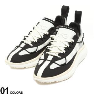 Y-3 メンズ ワイスリー メッシュ ナイロン スニーカー SHIKU RUN ブランド シューズ 靴 adidas アディダス YOHJI YAMAMOTO Y3FZ4321 zen