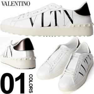 ヴァレンティノガラヴァーニ VALENTINO GARAVANI スニーカー ロゴプリント スタッズ ブランド メンズ 靴 シューズ ローカット レザー VLRY2S0830PST|zen