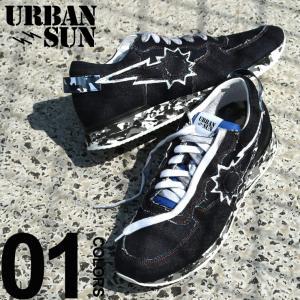 アーバンサン スニーカー urbansun デニム ロゴ ローカット ブランド メンズ 靴 シューズ スニーカー ジーンズ USANDRE221|zen