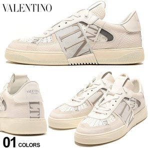 ヴァレンティノ VALENTINO レザー ロゴテープ スニーカー VL7N WHITE ブランド メンズ シューズ 靴 レザースニーカー モノトーン VLTY2S0C58|zen