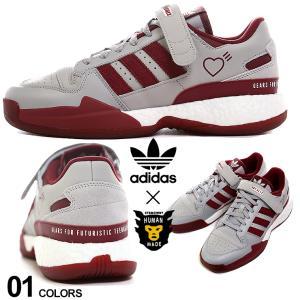 adidas Originals by HUMAN MADE アディダスオリジナルス ヒューマンメイド レザー ローカット スニーカー FORUM LOW HM メンズ フォーラム ロー ADS42977|zen