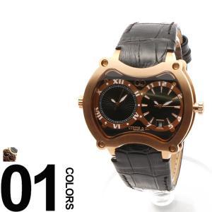 カーティス CURTIS&Co. 腕時計 型押しレザーベルト Dバックル ビッグタイム47mm OSBGD47B-RG|zen