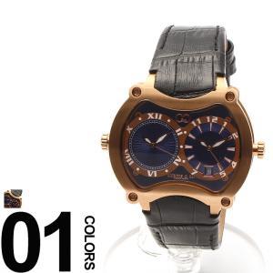 カーティス CURTIS&Co. 腕時計 型押しレザーベルト Dバックル ビッグタイム47mm OSBGD47BL-RG|zen