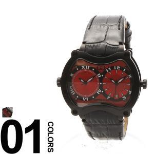 カーティス CURTIS&Co. 腕時計 型押しレザーベルト Dバックル ビッグタイム47mm OSBGD47R-B|zen