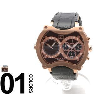 CURTIS&Co. カーティス 型押しレザーベルト Dバックル ビッグタイム57mm 腕時計 BGD57BR-RG|zen