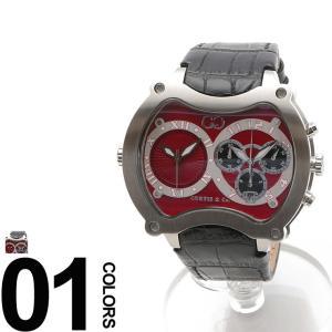 CURTIS&Co. カーティス 型押しレザーベルト Dバックル ビッグタイム57mm 腕時計 BGD57R-S|zen