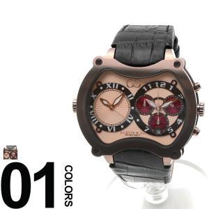 CURTIS&Co. カーティス 型押しレザーベルト Dバックル ビッグタイム57mm 腕時計 BGD57RG-BR|zen