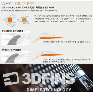 3DFINS:Jamie O'Brien  シグネーチャーモデル 最速ディンプル&チャンネルティップ カーボンフィン FUTURE/FCS2|zenithgaragesurfplus|07
