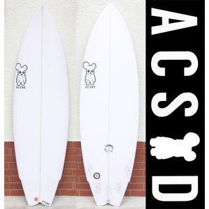 ACSOD:ALEX CREWS SHAPE [COFFEE STAIN 5'9