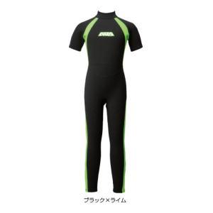 AQA:半袖長ズボンのシーガルタイプ/キッズ・子供用ウエットスーツ100〜160サイズ 3色展開|zenithgaragesurfplus|03