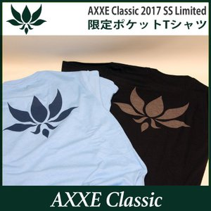 AXXE Classic:2017 SUMMER LIMITED Tee/アックスクラッシック 限定ポケットTシャツ|zenithgaragesurfplus