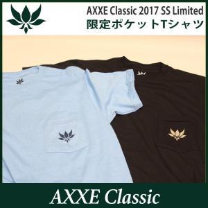 AXXE Classic:2017 SUMMER LIMITED Tee/アックスクラッシック 限定ポケットTシャツ zenithgaragesurfplus 02