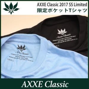 AXXE Classic:2017 SUMMER LIMITED Tee/アックスクラッシック 限定ポケットTシャツ|zenithgaragesurfplus|03